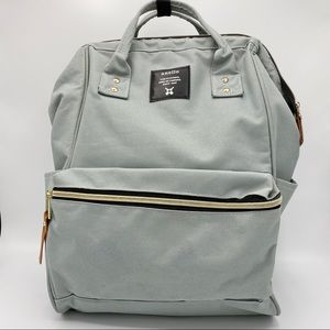 ANELLO CANVAS HINGE CLASP BACKPACK